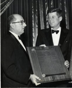 JohnFKennedyandMaxEtraCharterDayDinner1957small