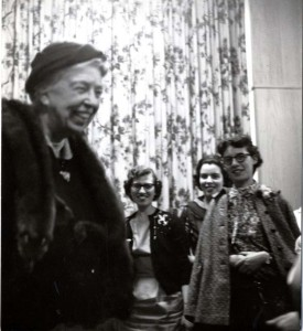 EleanorRooseveltatSternCollege May1958