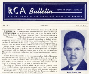 RCA Bulletin, collage created from issues of February 1947 and April 1947.