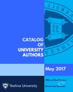 Catalog of University Authors cover