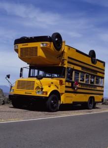 Topsy Turvy Bus