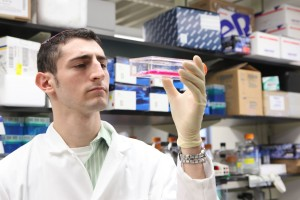 Yeshiva College's Daniel Rosen hopes his research will help develop a novle line of therapies for people afflicted by dangerous fungal infections.