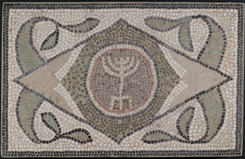 MET-Mosaic of a Menorah