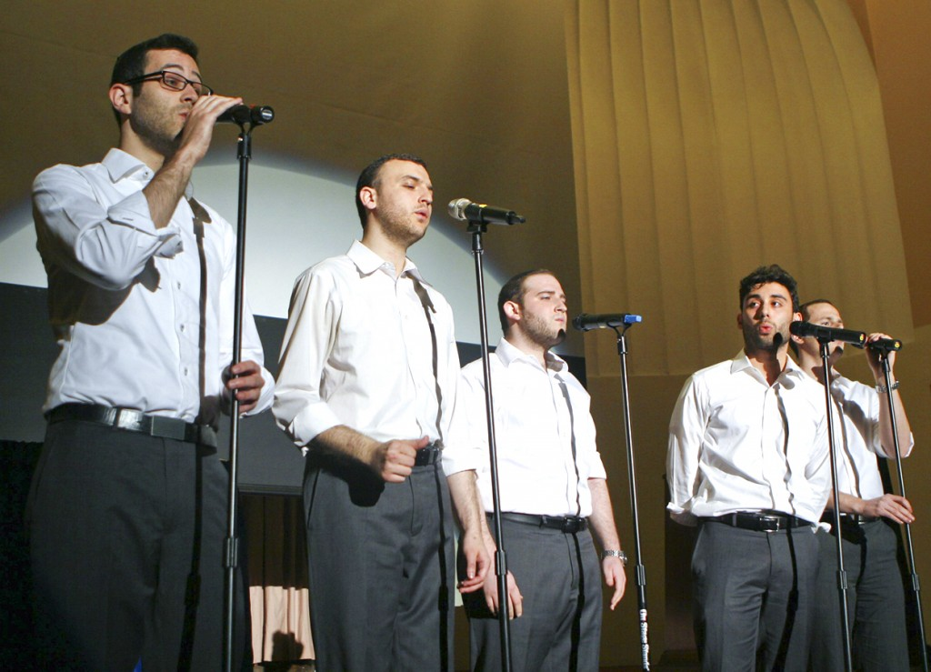 The Maccabeats perform