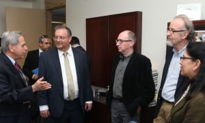 Minister Hershkowitz meets with YU faculty