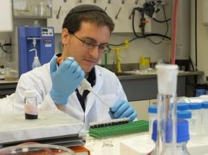 Yeshiva College student David Kornbluth