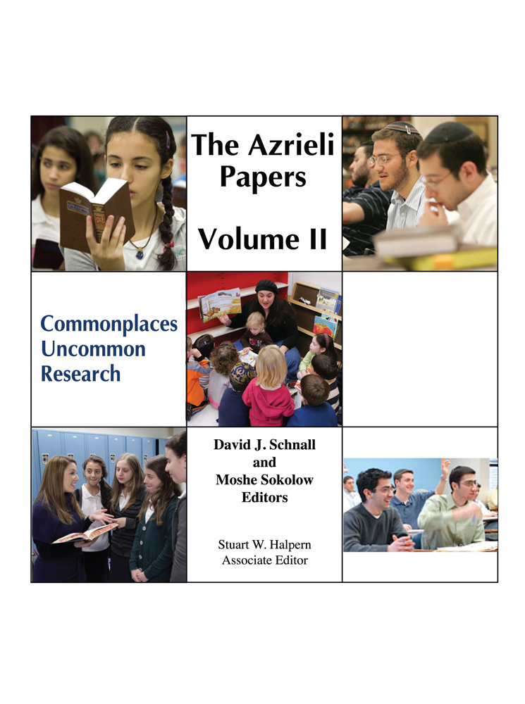 Azrieli Papers Volume 2