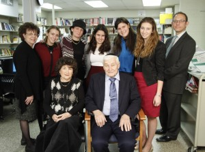 Students at YU High School for Girls connect with Holocaust survivors