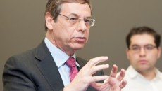Press luncheon with Ambassador Danny Ayalon and students