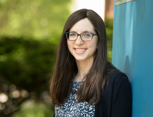 Yael Landman, a Revel PhD student who was awarded the AJS Fellowship
