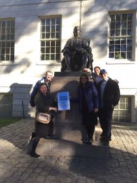 Torah Tours mission to Newton