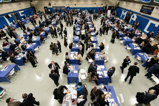 The annual Jewish Job Fair attracts