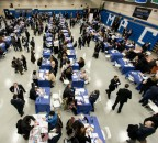 The Jewish Job Fair, hosted by Yeshiva University