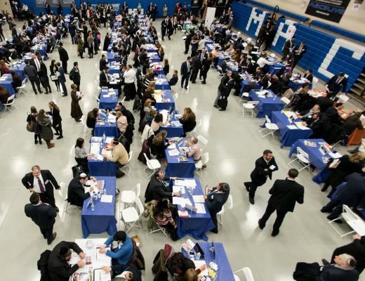 The Jewish Job Fair, hosted by Yeshiva University