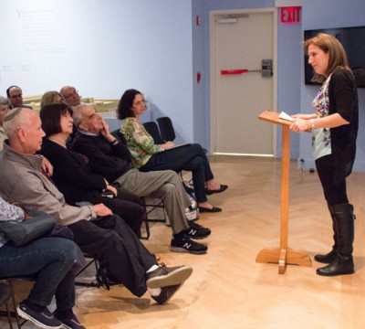 Dara Horn Gives a Lecture at the YU Museum