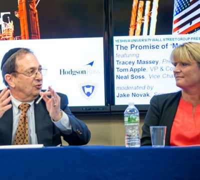 Neal Soss and Tracey Massey
