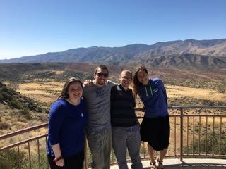 Torah Tours participants in x, y
