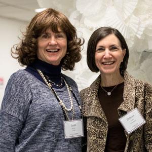 Leah (Becker) Wolf and Deborah Nobel