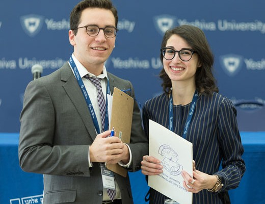 Gabriel Sturm and Eli Nemetz, MES co-presidents