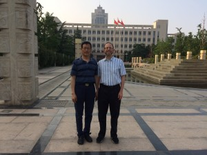 Associate Dean Cohen and Dr. Youde Fu