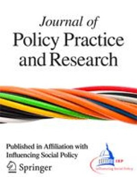 Cover of Journal and Policy Practice and Research