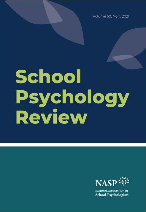 Cover of School Psychology Review