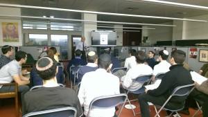 Dr. Sam Gellens speaking