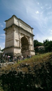 Day 2: The Arch of Titus