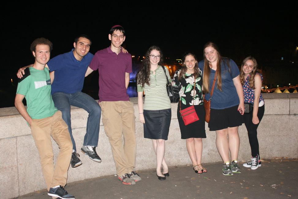 Day 1: Tiber River