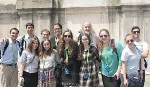 Our group at the Vatican