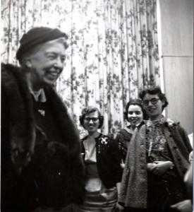 EleanorRooseveltatSternCollege May1958