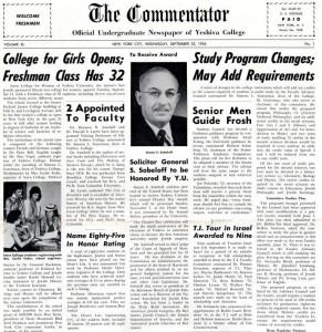 Commentator - September  22, 1954