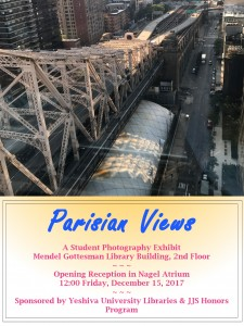Parisian Views broadside