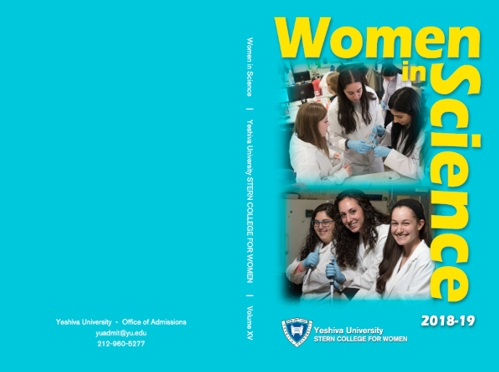 Wonmen in Science cover page