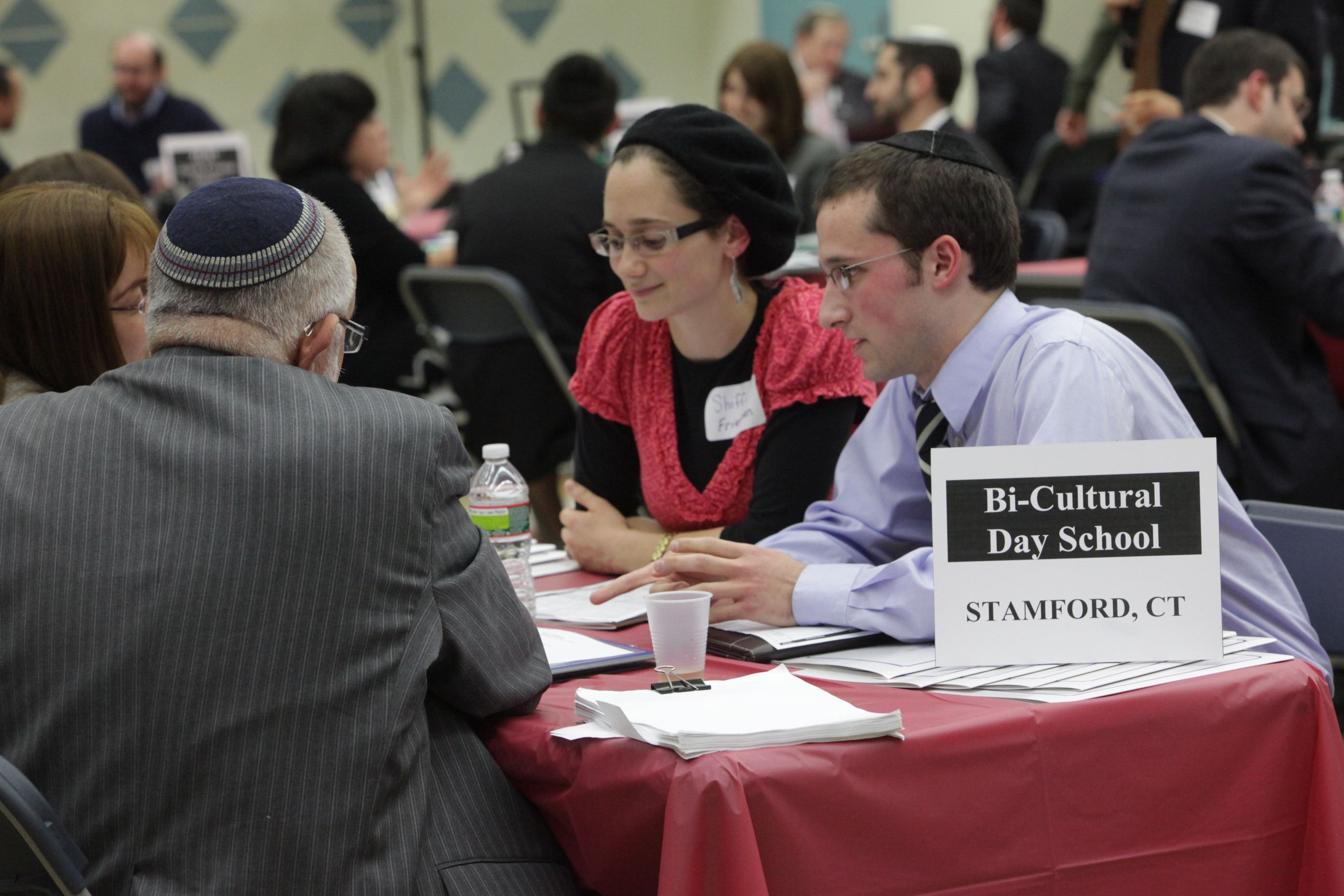 On Campus Chinuch Recruitment event at Yeshiva University