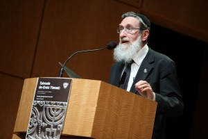 Professor Daniel Sperber of Bar-Ilan University