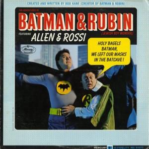 Batman and Rubin Mercury, 1967 Courtesy of Josh Kun and Roger Bennett.