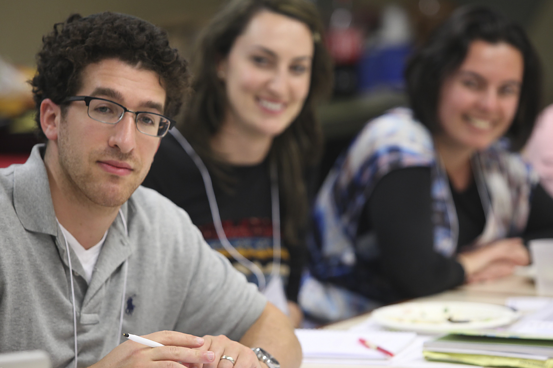 Raffi Rosenzweig, a Legacy Heritage Fellow, has taught at Dallas's Yavneh Academy for the past two years.