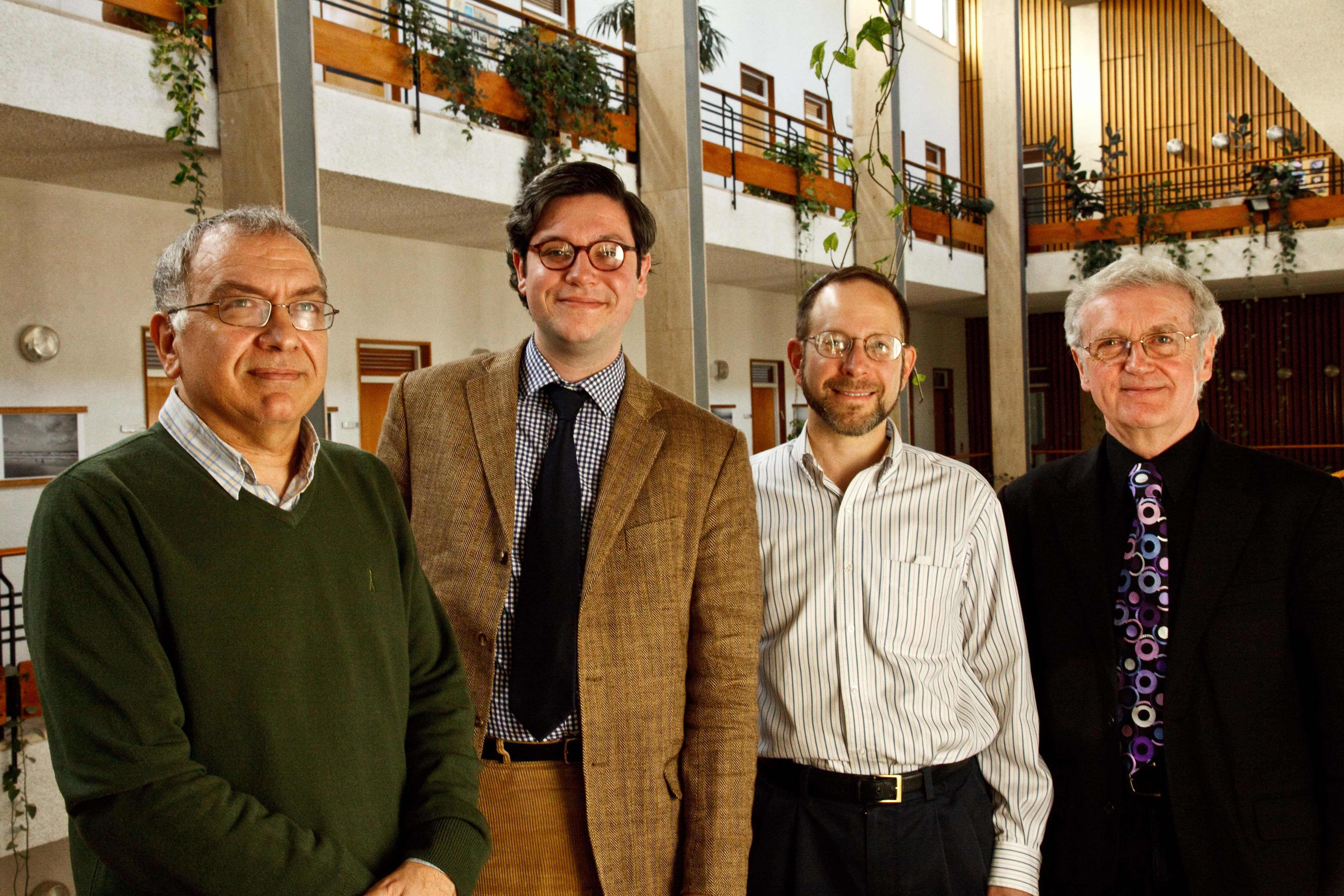Group members: Meir Bar-Asher, Hebrew University; Andrew Kraebel, Yale; Cohen and Alastair Minnis, Yale.
