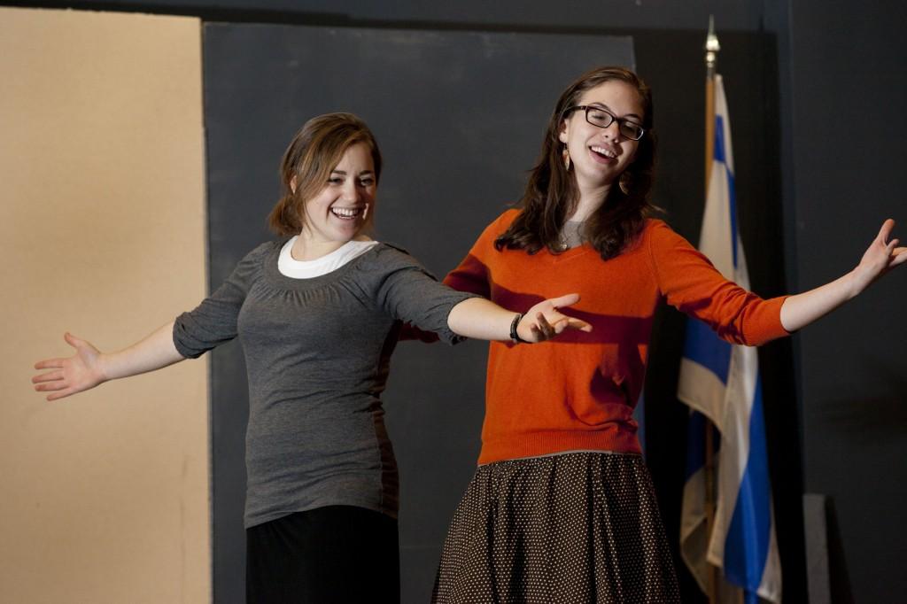 Hannah Dreyfus and Hannah Rozenblat