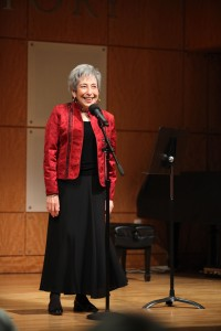 The festival honored Peninah Schram of Stern College for Women.
