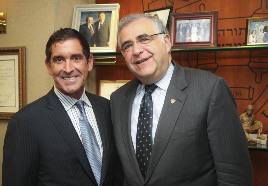 Senator Klein and President Joel