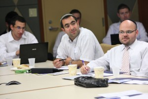 More than 35 teachers and administrators representing 15 schools discussed new goals and standards for teaching gemara.