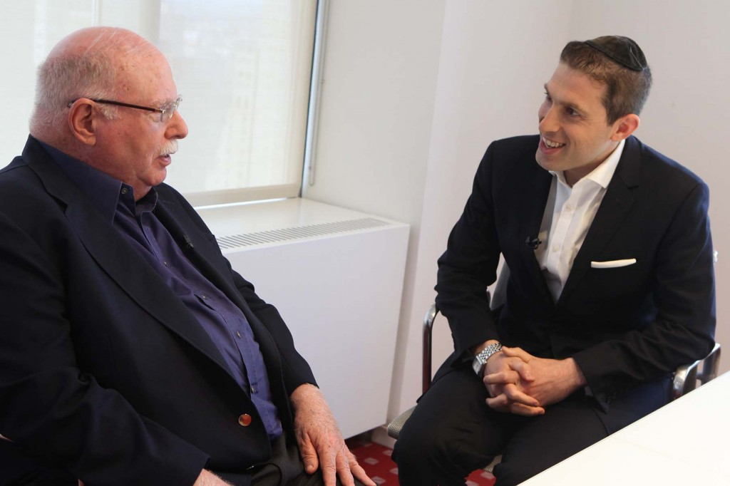 """Charlie Harary interviews  Michael Steinhardt for new TV show, """"Elements of Success"""""""