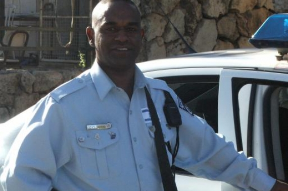Fulfilling his father's wish, Legesse served as an Israeli police officer.