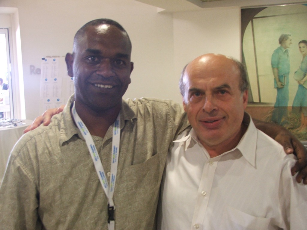 Legesse with Natan Sharansky