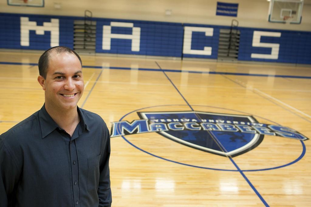 Elliot Steinmetz, new men's basketball head coach
