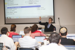 AMT finance course taught on Beren's campus by German Nande