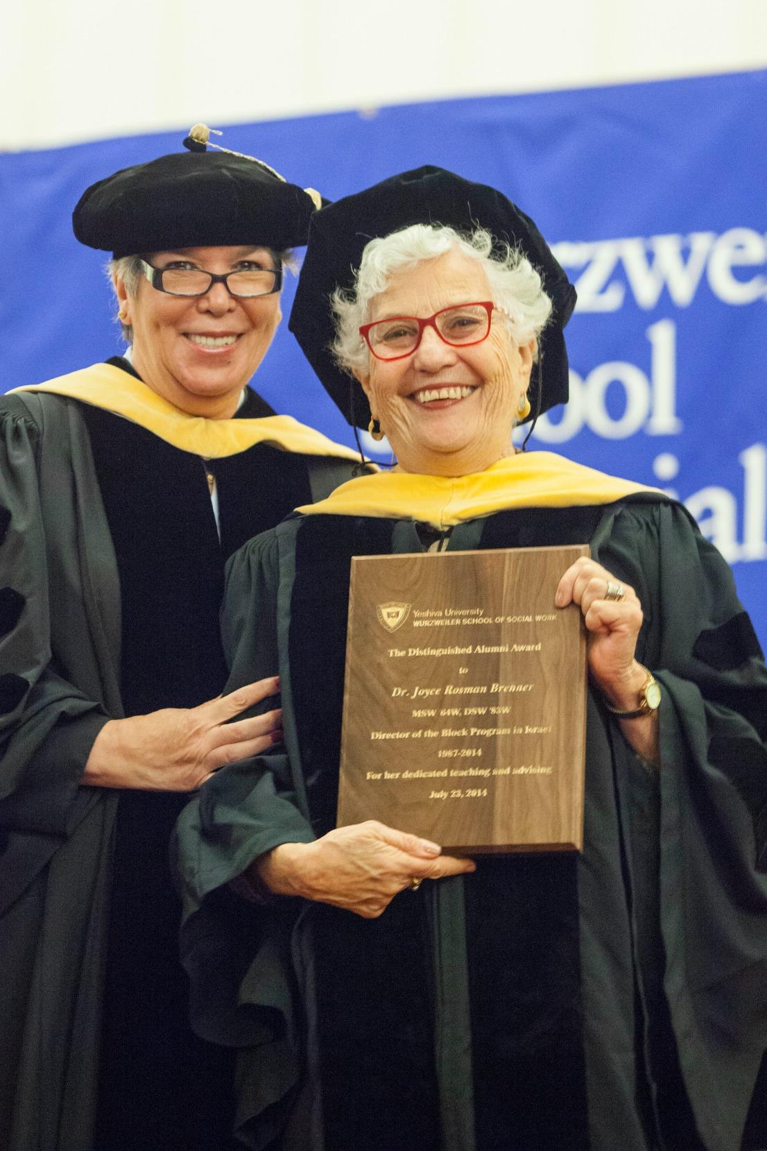 Dean Carmen Ortiz Hendricks, left, and Dr. Joyce Brenner