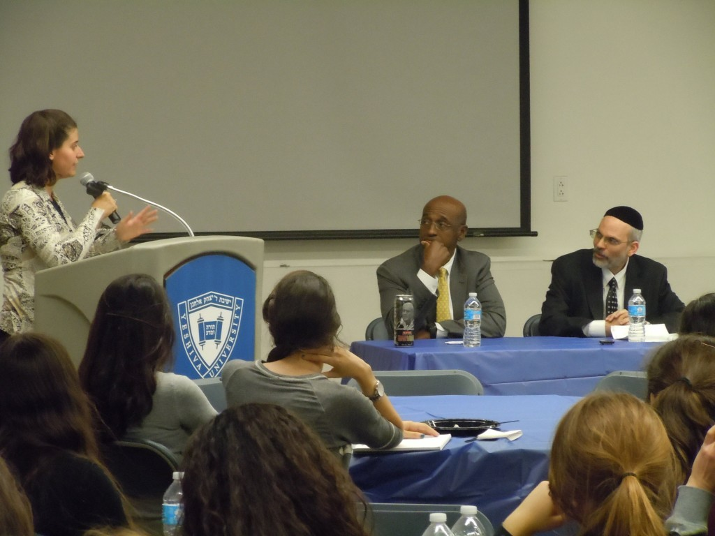 Professor Adina Levine, Judge Joseph Greenaway, Rabbi Yona Reiss